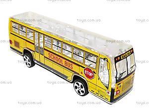 Автобус инерционный музыкальный, 998-35F1, игрушки