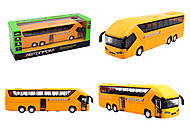 Автобус металлический, 4 цвета, 7779