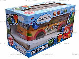 Автобус музыкальный, D00199A, купить