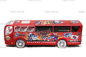 Автобус музыкальный «Тачки», 767-197, игрушки