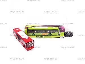 Автобус на радиоуправлении, с эффектами,