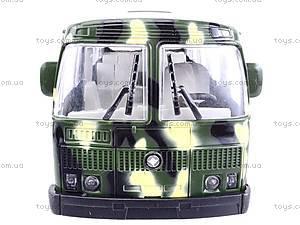 Автобус ПАЗ «Вооруженные силы», 32117, игрушки