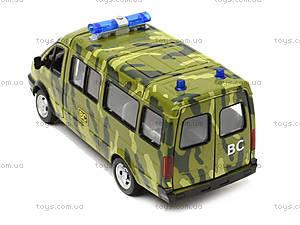 игрушечный военный автобус «Автопарк», 9689-A, фото