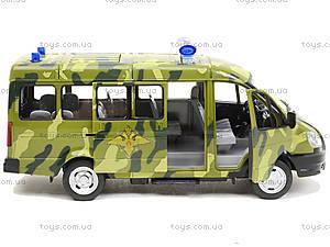 игрушечный военный автобус «Автопарк», 9689-A, игрушки