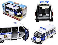 Игрушечный полицейский автобус «Автопарк», 9689-B, отзывы