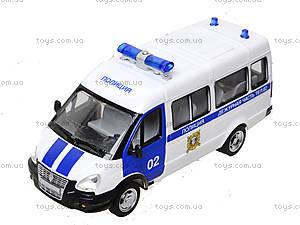 Игрушечный полицейский автобус «Автопарк», 9689-B, игрушки