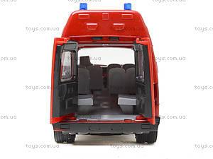 Игрушечный микроавтобус «Пожарка», 9707-A, купить