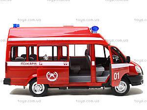 Игрушечный микроавтобус «Пожарка», 9707-A, отзывы
