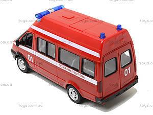 Игрушечный микроавтобус «Пожарка», 9707-A, цена