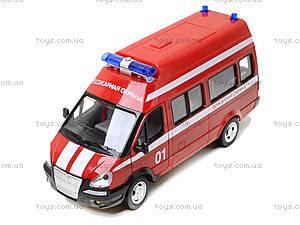 Игрушечный микроавтобус «Пожарка», 9707-A, игрушки
