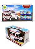 Автобус-скорая PLAY SMART, 9707-B, купить