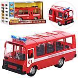 Автобус «Пожарная служба» из серии Автопарк, 9714A, фото