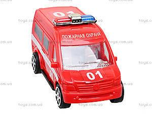 Игрушечный автобус «Пожарная охрана», R366-10, купить