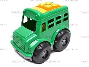 Автобус с пасочками, 0091, игрушки