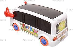 Автобус со звуковыми эффектами, YJ-398A, купить