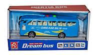 Автобус синий музыкальный, RJ6688A, купить
