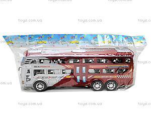 Инерционный автобус для детей «Рейсовый», 426-2, отзывы