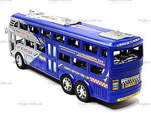Инерционный автобус для детей «Рейсовый», 426-2, игрушки