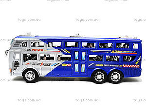 Инерционный автобус для детей «Рейсовый», 426-2, детские игрушки