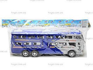 Инерционный автобус для детей «Рейсовый», 426-2, магазин игрушек