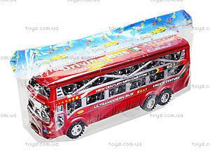 Инерционный автобус для детей, 425-5, отзывы