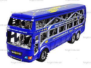 Инерционный автобус для детей, 425-5, цена