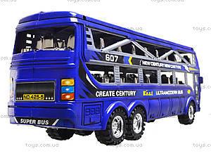 Инерционный автобус для детей, 425-5, игрушки
