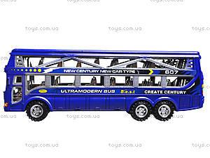 Инерционный автобус для детей, 425-5, детские игрушки