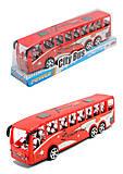 Автобус инерционный «City bus», TQ123-30A(1341002), отзывы