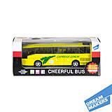 Автобус инерционный «Cheerful Bus», XL80136L