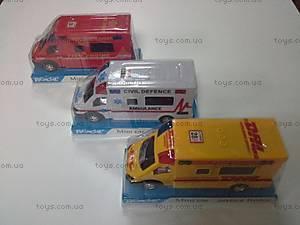 Автобус инерционный для деток, 589-28 C