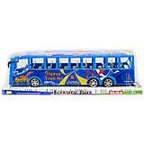 Автобус инерционный синий, WY950-54, купить
