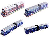 Автобус с инерцией в блистерной упаковке, 856, отзывы