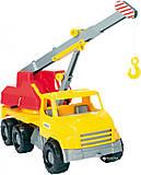 Автокран «City Truck» (желтый), 39366