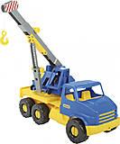 Автокран «City Truck» (сине-желтый), 39396, фото