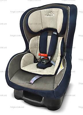 Автокресло Wonderkids Crown Safe (бежевый/синий), WK01-CS11-012