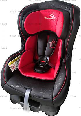 Автокресло WonderKids CROWN SAFE (красный/черный), WK01-CS11-001