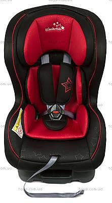 Автокресло WonderKids CROWN SAFE (красный/черный), WK01-CS11-001, игрушки