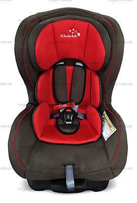 Автокресло Wonderkids Crown Safe (красный/коричневый), WK01-CS11-011, купить