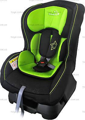 Автокресло WonderKids Crown Safe (зеленый/черный), WK01-CS11-003