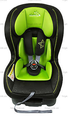 Автокресло WonderKids Crown Safe (зеленый/черный), WK01-CS11-003, игрушки