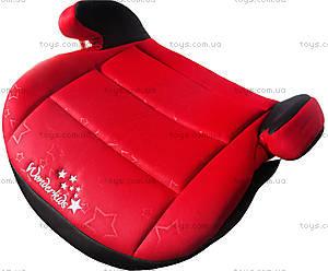 Автокресло WonderKids Honey Pad (красный/черный), WK08-HP11-001