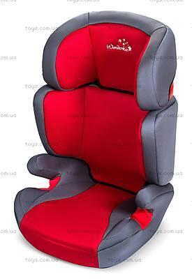 Автокресло WonderKids Rookie (красный/серый), WK03-R21-001
