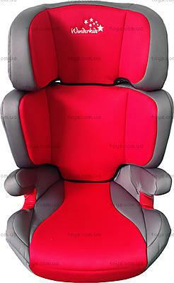 Автокресло WonderKids Rookie (красный/серый), WK03-R21-001, цена