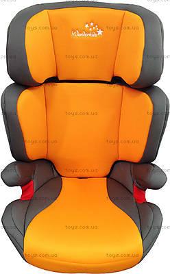 Автокресло WonderKids Rookie (оранжевый/серый), WK03-R21-005, цена