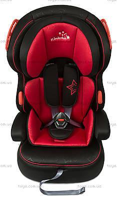 Автокресло WonderKids VALET SAFE (красный/черный), WK03-VS11-001, фото