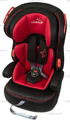 Автокресло WonderKids VALET SAFE (красный/черный), WK03-VS11-001, детские игрушки