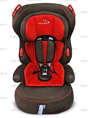 Автокресло Wonderkids VALET SAFE (красный/коричневый), WK03-VS11-011, купить