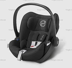 Автокресло для новорожденных Cloud Q Happy Black-black, 516110001