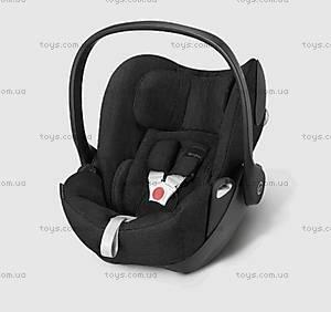 Автокресло для новорожденных Cloud Q PLUS Happy Black-black, 516110017